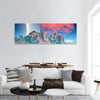 Fantasy Alien Planet Panoramic Canvas Wall Art 1 Piece / Small Tiaracle