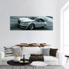 Fast Speed Car In Tunnel Panoramic Canvas Wall Art 1 Piece / Small Tiaracle
