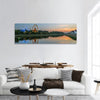 Ferris Wheel In Regensburg Germnay Panoramic Canvas Wall Art 1 Piece / Small Tiaracle