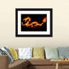 Fiery Dragon Multi Panel Canvas Wall Art-Tiaracle