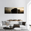 Fighting Scene On War Panoramic Canvas Wall Art 3 Piece / Small Tiaracle