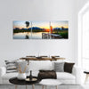 Fishing Jetty In Hong Kong Panoramic Canvas Wall Art Tiaracle