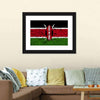 Flag Of Kenya Canvas Wall Art