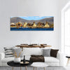 Floating Uro Islands on Lake Titicaca Panoramic Canvas Wall Art 1 Piece / Small Tiaracle