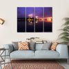 Foggy Dusk In Bled Lake Canvas Wall Art