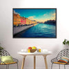 Fontanka Canal In Saint Petersburg Multi Panel Canvas Wall Art-Tiaracle