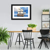 French Sailing Ship Canvas Wall Art
