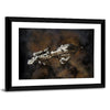 Futuristic Interstellar Escort Frigate Canvas Wall Art