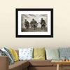 German Soldiers WW2 Reenacting Canvas Wall Art-Tiaracle