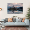 Glacial Lake Bled Canvas Wall Art-4 Horizontal-Small-Gallery Wrap-Tiaracle