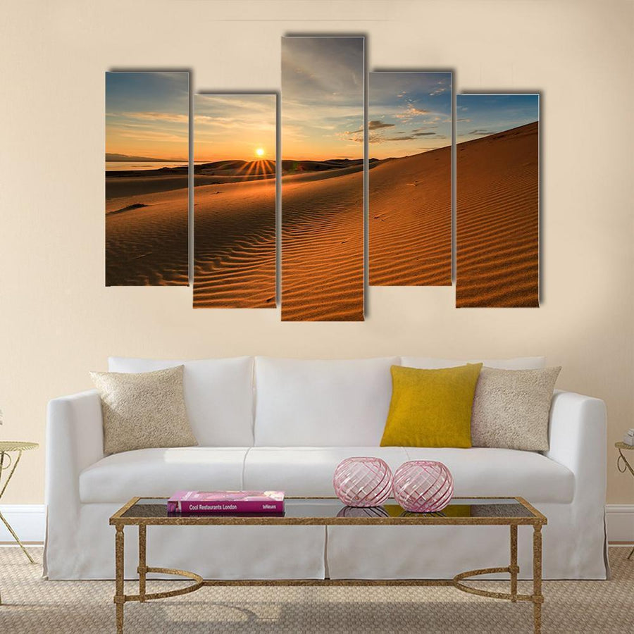 Beautiful Views Of The Gobi Desert Mongolia Canvas Panel Painting Tiaracle