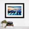 Gondolas In Grand Canal Canvas Wall Art-Tiaracle