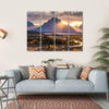 Grand Teton National Park In Wyoming Multi Panel Canvas Wall Art 4 Horizontal / Small / Gallery Wrap Tiaracle