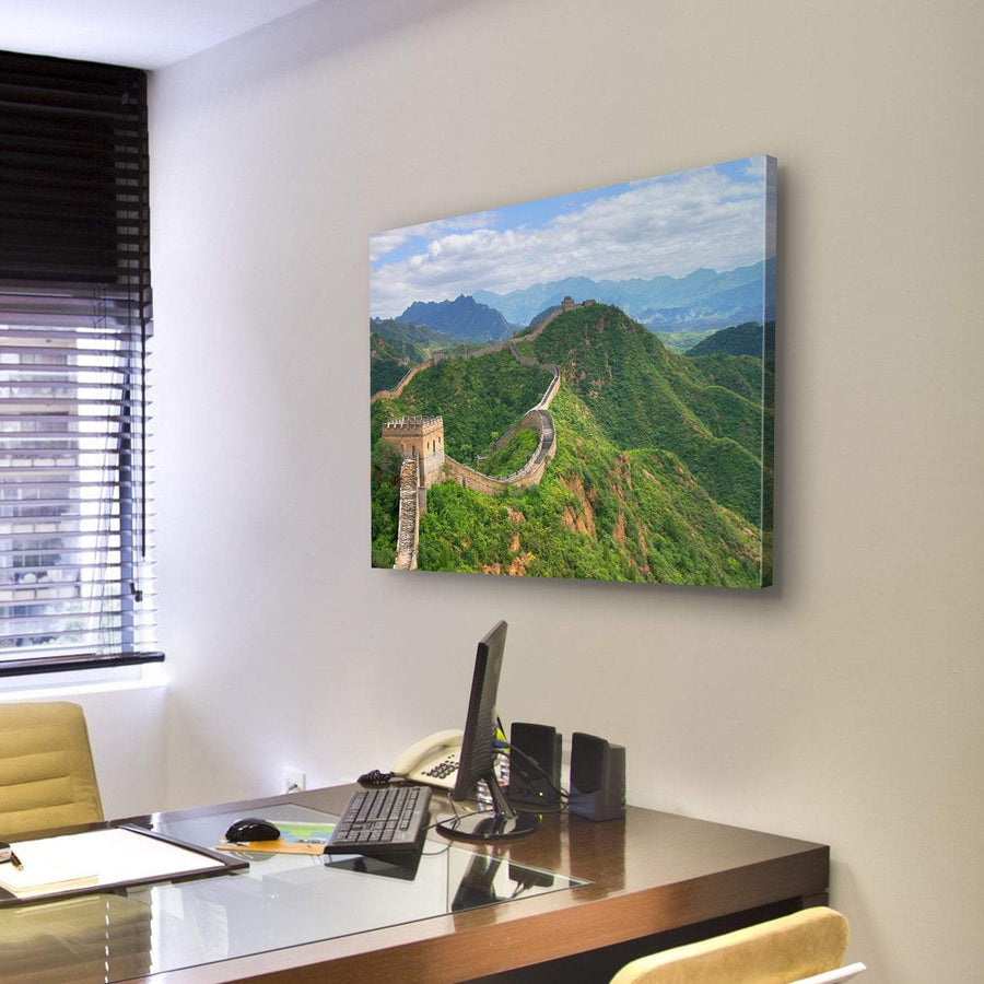 Great Wall of China Canvas Panel Painting Tiaracle