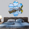Hangzhou West Lake China Hexagonal Canvas Wall Art 7 Hexa / Small / Gallery Wrap Tiaracle