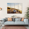 Happy Couple Driving Canvas Wall Art-4 Horizontal-Small-Gallery Wrap-Tiaracle