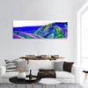 High Mountains View In Northern Thailand Panoramic Canvas Wall Art Tiaracle