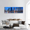 High Rise Buildings In Bangkok Downtown Panoramic Canvas Wall Art 1 Piece / Small Tiaracle