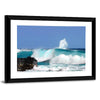 High Waves On Island, Hawaii Multi Panel Canvas Wall Art-Tiaracle