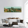 Historical Center Of Prague Panoramic Canvas Wall Art 1 Piece / Small Tiaracle