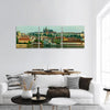 Historical Center Of Prague Panoramic Canvas Wall Art 3 Piece / Small Tiaracle