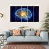Human Brain Canvas Wall Art-5 Horizontal-Small-Gallery Wrap-Tiaracle