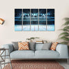 Ice Hockey Sport Arena Canvas Wall Art-5 Horizontal-Small-Gallery Wrap-Tiaracle