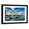 Iguacu Falls In Brazil Canvas Wall Art-Tiaracle