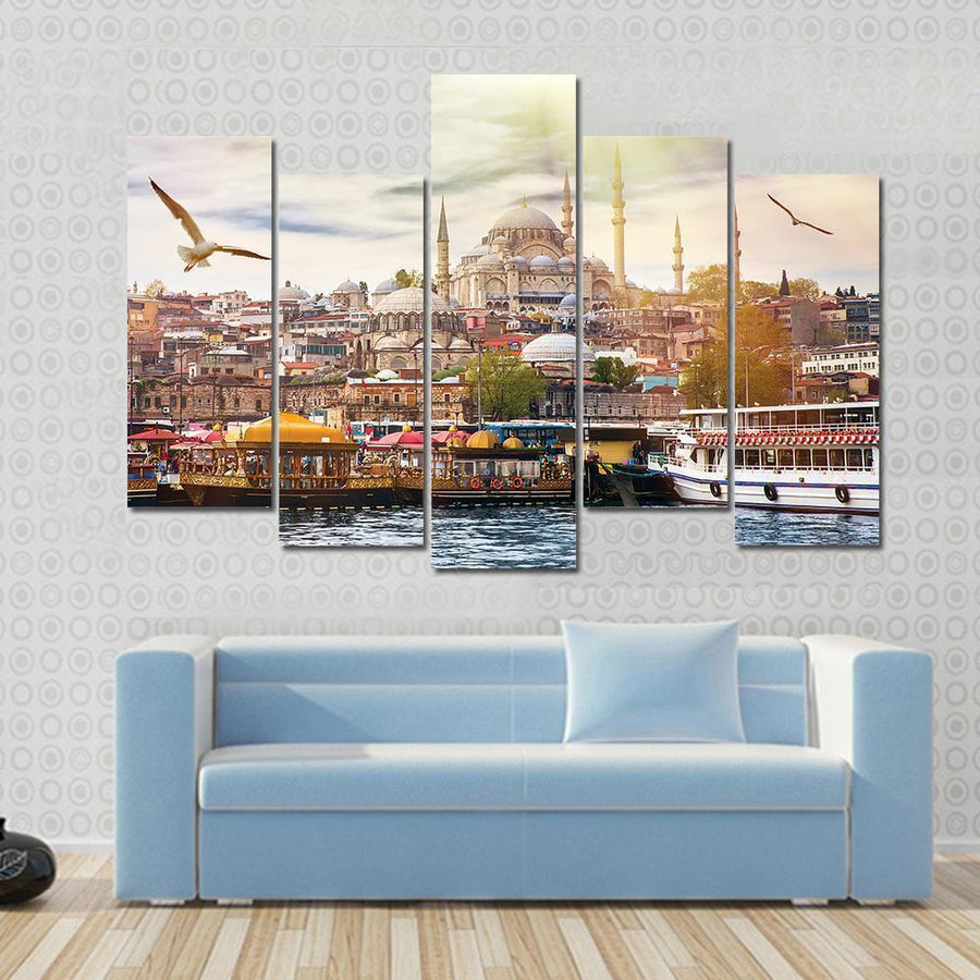 Istanbul The Capital Of Turkey Canvas Panel Painting Tiaracle