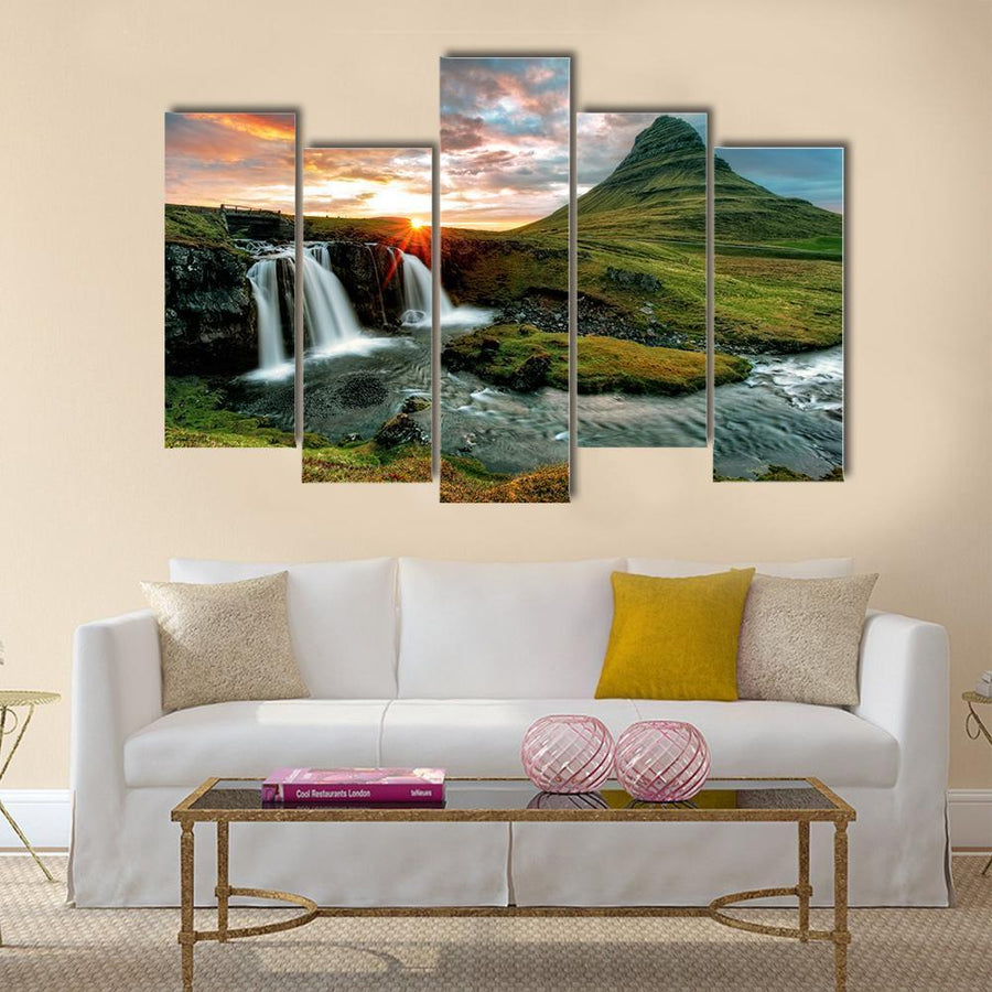Beautiful View Of Iceland Canvas Panel Painting Tiaracle
