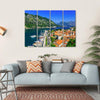 Kotor Bay And Old Town From Lovcen Mountain Multi Panel Canvas Wall Art 4 Horizontal / Small / Gallery Wrap Tiaracle