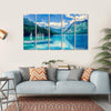 Lake Bled With Luminescent Canvas Wall Art-5 Horizontal-Small-Gallery Wrap-Tiaracle