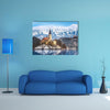Lake Bled With St Marys Church In Slovenia Multi Panel Canvas Wall Art 1 Piece / Small / Gallery Wrap Tiaracle