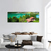 Lake Brienz In Switzerland Panoramic Canvas Wall Art 1 Piece / Small Tiaracle