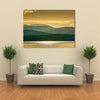 Adirondacks Mountains From Lake Champlain Multi Panel Canvas Wall Art 1 Piece / Medium / Canvas Tiaracle
