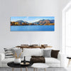 Lake Kawaguchi in Japan Panoramic Canvas Wall Art 1 Piece / Small Tiaracle
