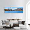 Lake Kawaguchi in Japan Panoramic Canvas Wall Art 3 Piece / Small Tiaracle