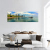 Lake Michigan And Chicago Skyline Panoramic Canvas Wall Art Tiaracle