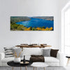 Lake Of Cochrane In Patagonia Panoramic Canvas Wall Art 1 Piece / Small Tiaracle