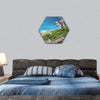 Langkawi Coast Line Hexagonal Canvas Wall Art 1 Hexa / Small / Gallery Wrap Tiaracle