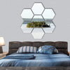 Lonely Island In Sweden Hexagonal Canvas Wall Art 7 Hexa / Small / Gallery Wrap Tiaracle