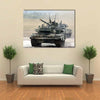 Main Russian Tank T-90 Multi Panel Canvas Wall Art 1 Piece / Xsmall / Gallery Wrap Tiaracle