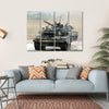 Main Russian Tank T-90 Multi Panel Canvas Wall Art 4 Horizontal / Small / Gallery Wrap Tiaracle