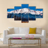 Majestic View Of Pikes Peak In Colorado Multi Panel Canvas Wall Art Tiaracle