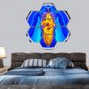 Medical X-Ray Scan Of Organs Hexagonal Canvas Wall Art 7 Hexa / Small / Gallery Wrap Tiaracle
