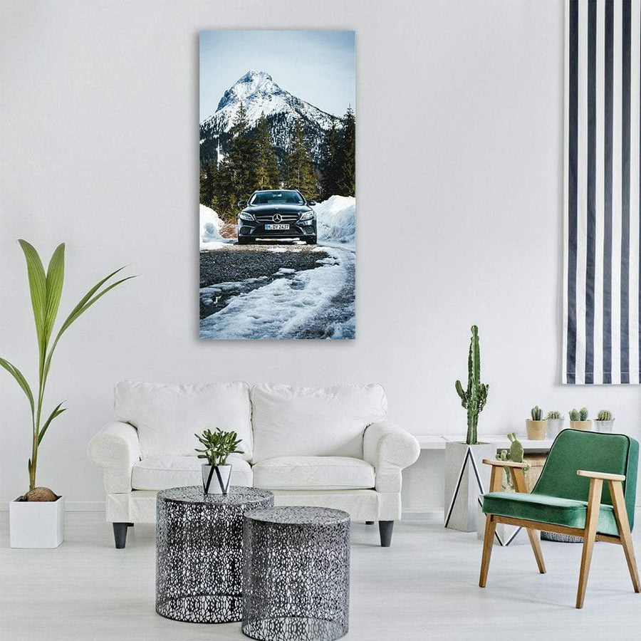 Mercedes Benz Austria Tyrol Vertical Canvas Wall Art 3 Vertical / Small / Gallery Wrap Tiaracle