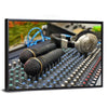 Microphones & Sound Mixer Multi Panel Canvas Wall Art-Tiaracle