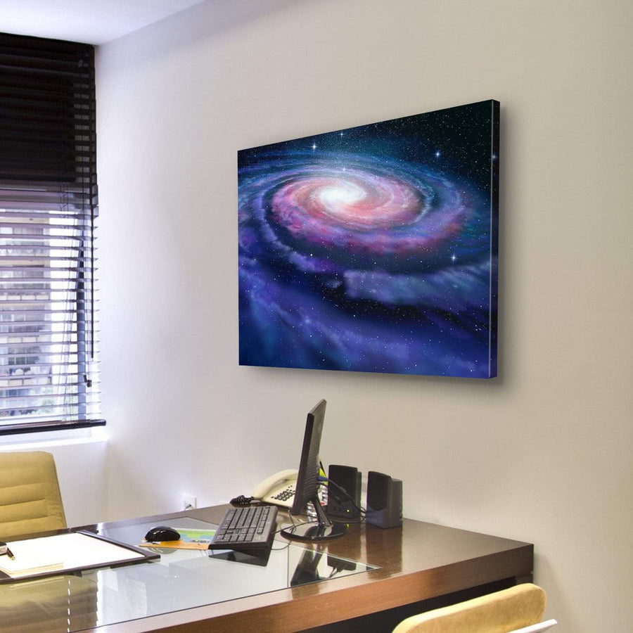 Milky Way Galaxy Canvas Panel Painting Tiaracle
