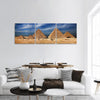 Miracle Of The World In Egypt Panoramic Canvas Wall Art Tiaracle