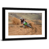 Motocross Rider Multi Panel Canvas Wall Art-Tiaracle